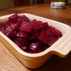 The Art of Eating's Beet Salad with Anchovies