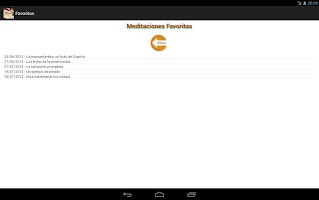 Screenshot of Meditacion Matutina 2013