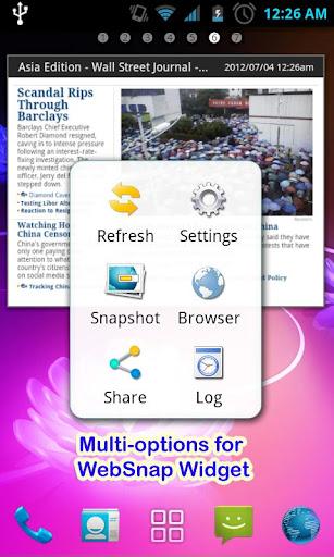 玩免費生產應用APP|下載Websnap-Web capture,Web widget app不用錢|硬是要APP