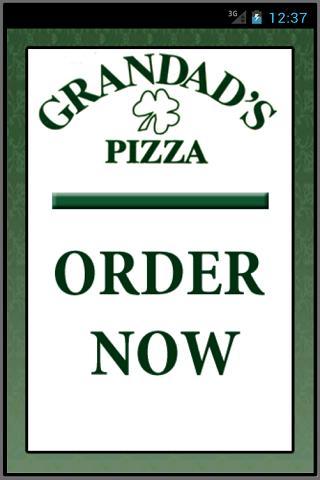 Grandad's Pizza II