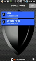 Screenshot of CRYPTOCard MP-1 Authentication