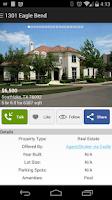 Screenshot of Real Estate Listings