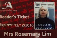 My reader's ticket
