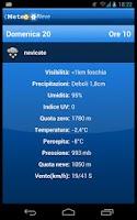 Screenshot of WeatherSnow