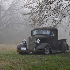 Out of the Fog by Kevin Dietze - Transportation Automobiles (  )