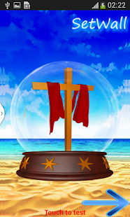 Jesus 3D Globe - screenshot