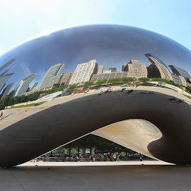The Bean by Ann Bjerring Ravn Weis - Buildings & Architecture Statues & Monuments