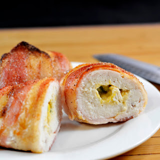 Bacon Wrapped Chicken Stuffed With Jalapeño & Cream Cheese
