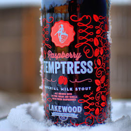 Lakewood Brewing's Raspberry Temptress by Steve Brassil - Food & Drink Alcohol & Drinks ( #beer #brew #beertography #stout )