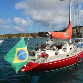 by Marina Zelenoy - Transportation Boats