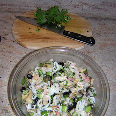 Christmas Eve Seafood Salad