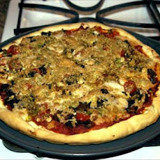 Chef Joey's  Yeast Free Vegan Pizza Pie