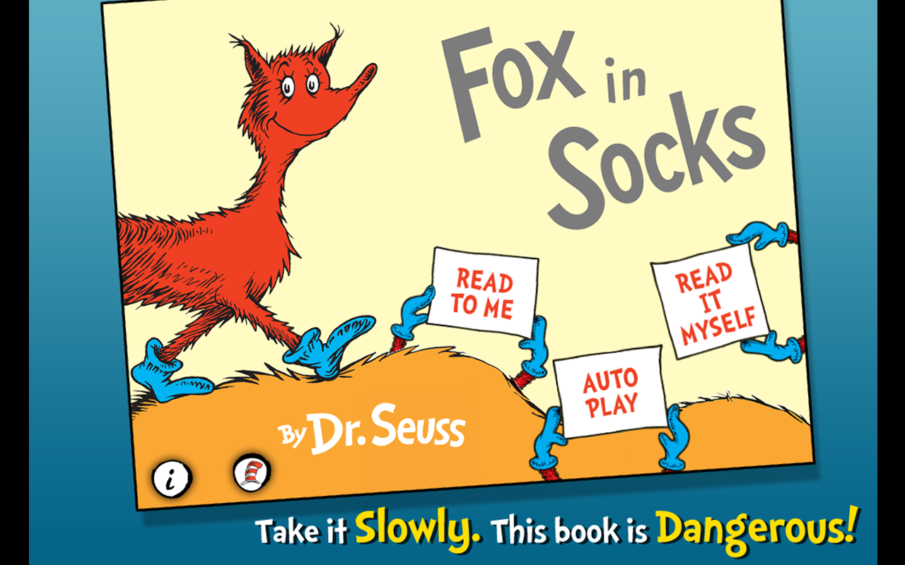 Fox in Socks - Dr. Seuss Screenshot 4