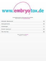 Screenshot of Embryotox