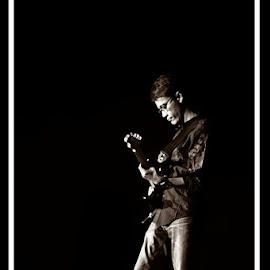 In the shadow by Anton N Munasti - People Musicians & Entertainers