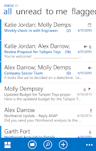 OWA for Android (Pre-Release) Screenshot