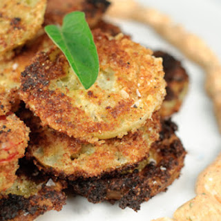 Fried Green Tomatoes with Smoky Mayo