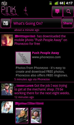 Pink 4 Facebook
