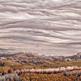 Pestera Village by Ariseanu Genu - Landscapes Cloud Formations