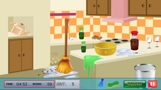 Cleaning House Game - screenshot