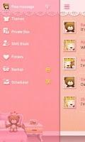 Screenshot of GO SMS PRO TEDDY THEME EX