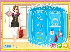 Screenshot of Korean Girl Dressup