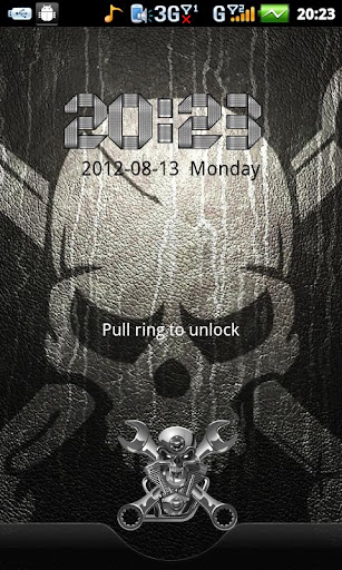 Skull Theme GO Locker