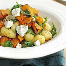 Gnocchi With Roasted Squash & Goat's Cheese
