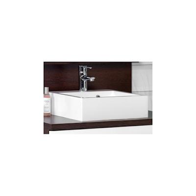 acheter vasque carr e 40 cm blanc en r sine pour salle de bain lanton aytr chez une salle de. Black Bedroom Furniture Sets. Home Design Ideas
