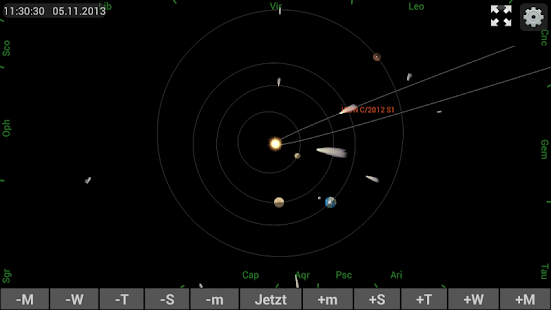 Mobile Observatory Screenshot