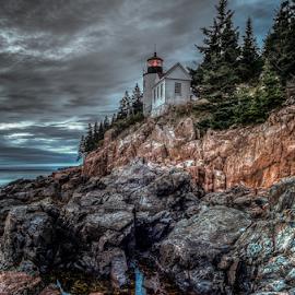 Acadia National Park,Maine,USA by Benoit Beauchamp - City,  Street & Park  Historic Districts