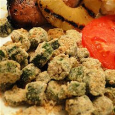 Oven Fried Okra