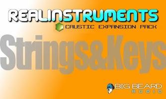 Screenshot of Caustic Pack Strings & Keys V1