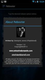 Download rebooter apk