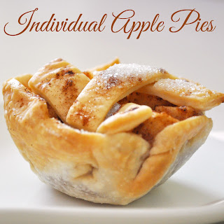 Individual Apple Pies for Thanksgiving!