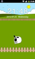 Screenshot of Sheep Farm Theme GO Locker