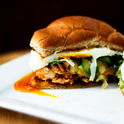 Slow-Cooker Honey Sriracha Barbecue Chicken | Make Ahead Mondays