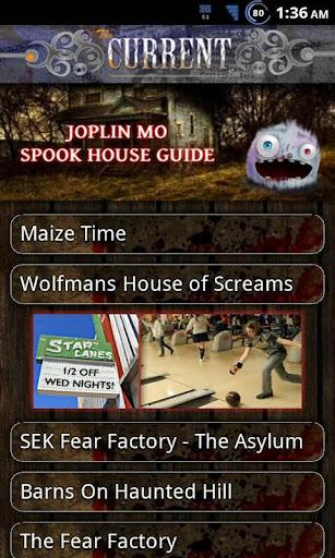 Joplin Spook House Guide