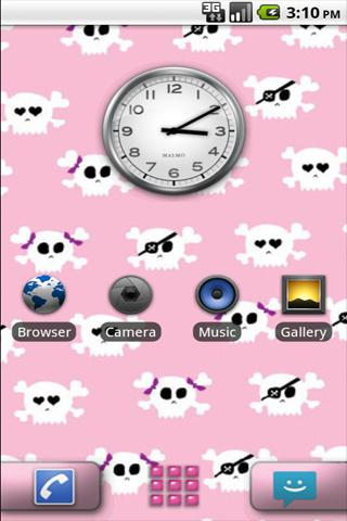 GDE Girly Skull Theme