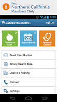 Screenshot of KP Preventive Care (NCAL only)