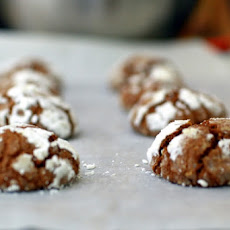 Ginger Chocolate Chip Crinkles