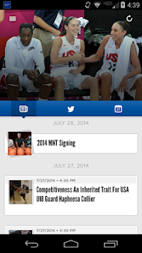 USA Basketball APK screenshot thumbnail 3