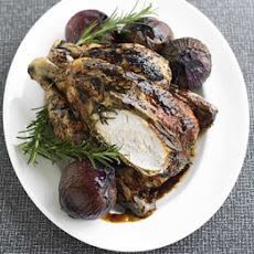 Rosemary & Balsamic Chicken With Roast Onions