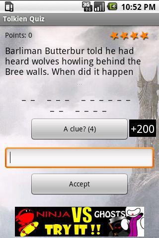 Tolkien Quiz