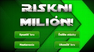 Screenshot of Riskni Milion - Kviz