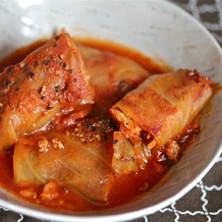 Smoky, Spicy Cabbage Rolls