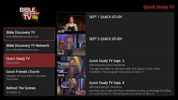Screenshot of Bible Discovery TV