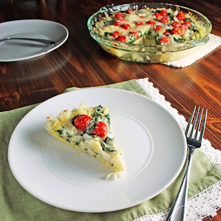 Spinach and Tomato Pie