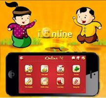 Screenshot of iOnline game danh bai dan gian