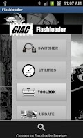 Screenshot of GIAC Flashloader Wireless App